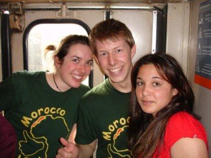 Train to Marrakech- cargo style