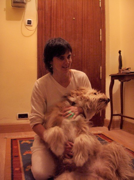 Our amazing Basque host and her lovely dog!