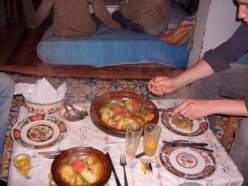 Home-cooked tajine