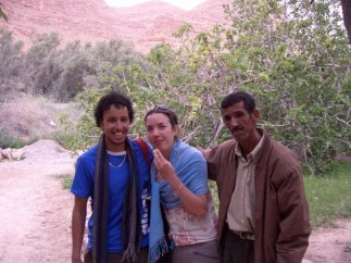 Tea break in the wilderness of Ziz Gorge