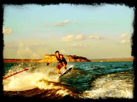 Conchas by wakeboard