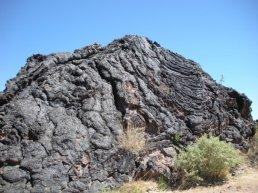 Ancient lava mount of Capulin Volcano