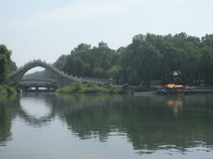There are many bridges all over the grounds of Summer Palace