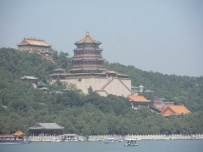 Summer Palace is built on many levels