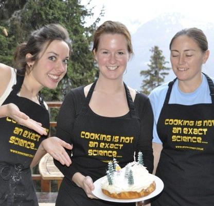 We won the cake making round! :D