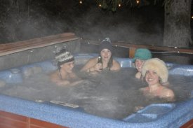 Ghost stories in the hot tub