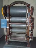 A chocolate grinder