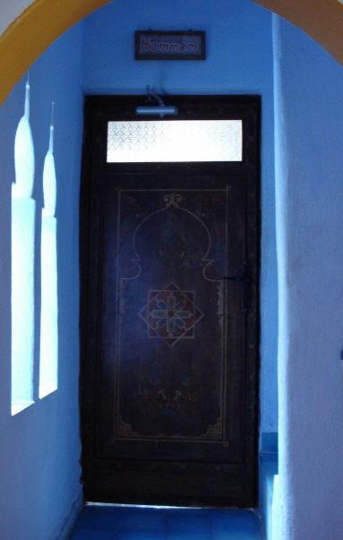 The Hammam door