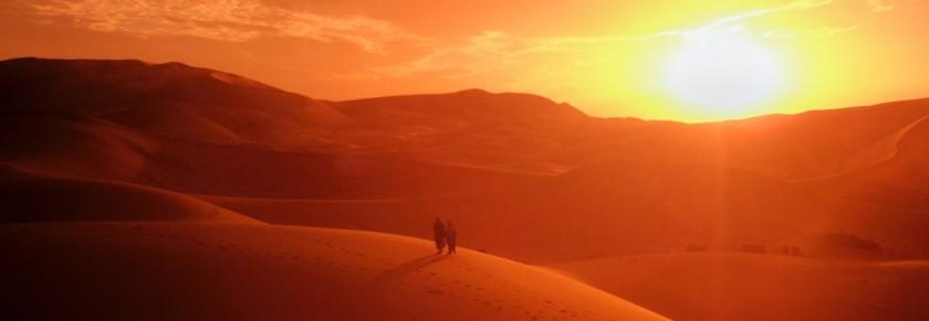 Berbers walking
