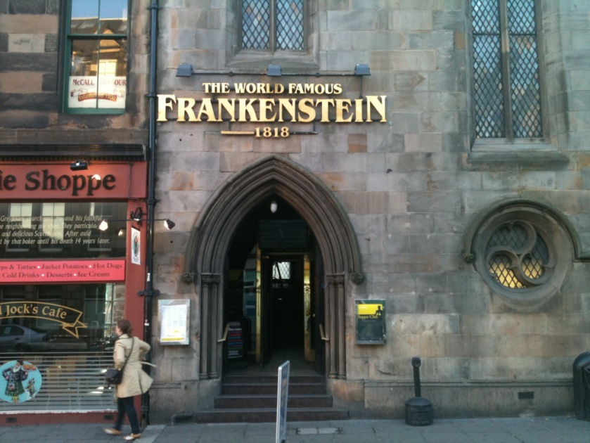 Frankenstein Bar - Edinburgh Royal Mile