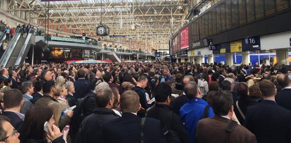London Waterloo crowds - why do we do this to ourselves?