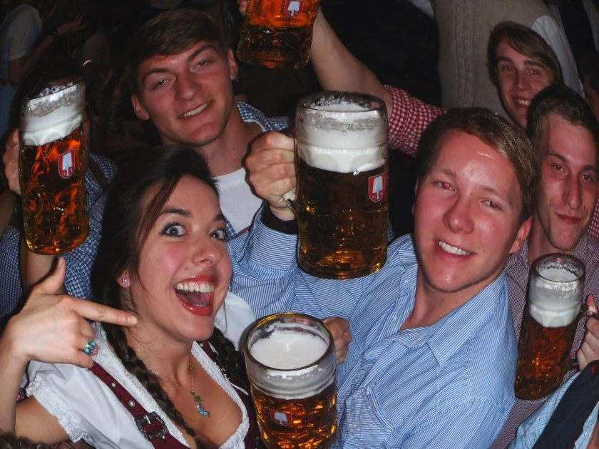 Dirndls, Drinks and Lederhosen