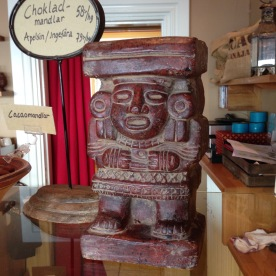 Filled with authentic Mexican chocolate artifacts