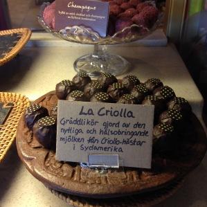 The signature criolla truffles - Criollo Chocolaterie, Malmo Sweden