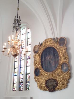 Inside St Petri Kirka