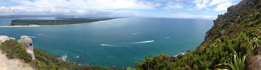 A view from the top of Mount Mainganui