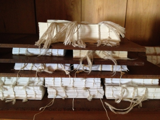 Binding the books