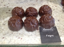 Feijoa - not to be missed! Bennett's Chocolates, New Zealand