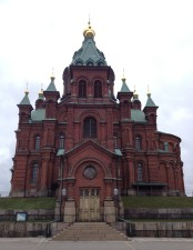 A classic Russian Orthodox church