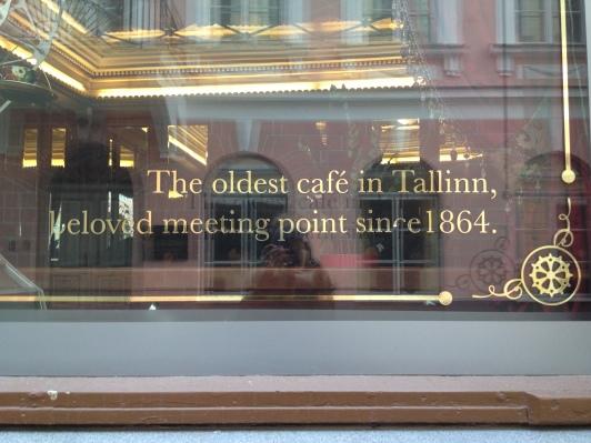 The oldest cafe in Tallinn
