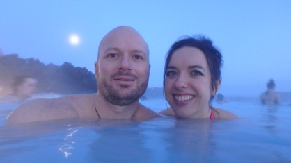 Lapping it up in Blue Lagoon