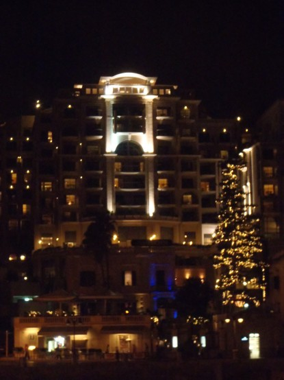 St Julien's Hotel and Spa - By Night