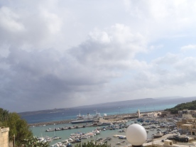 Relaxing view over the harbour
