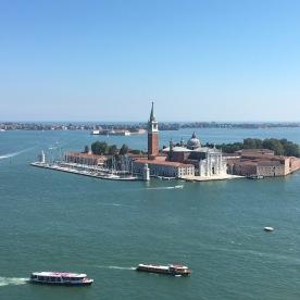 View over San Giorgio Maggiore