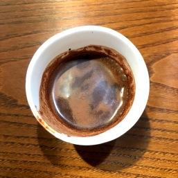 Vino Virtu's summer take on their classic dark hot chocolate