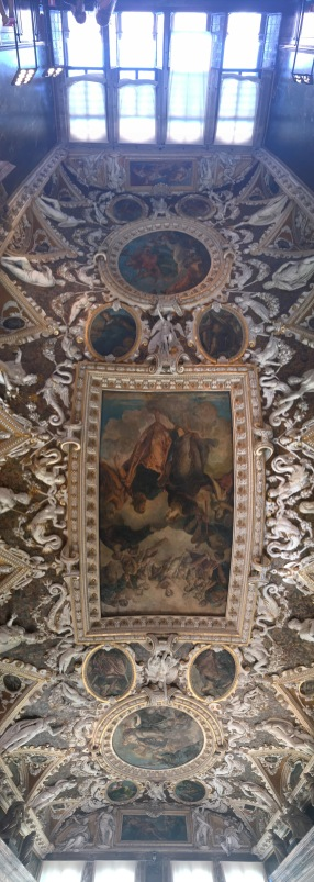 Doges Palace ceiling mural