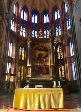 Grand church interior