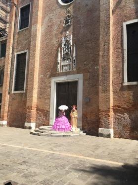 Traditional Venetian costume