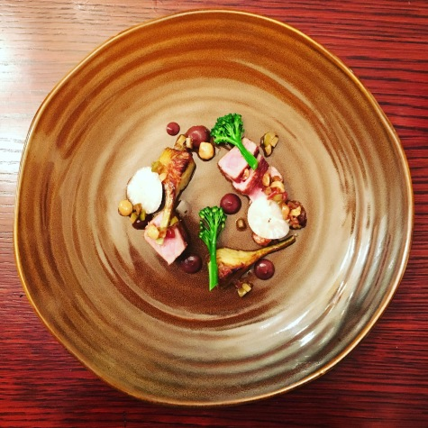 Veal and fig dish
