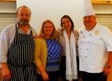 Mattieu, Sharon, me and David