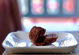 Dark chocoalte truffle