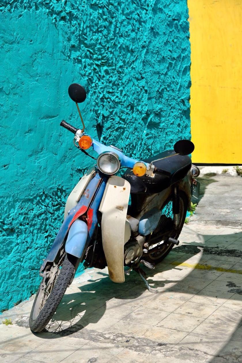 Scooter, Cozumel Island