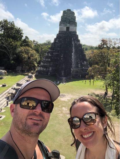Overlooking Jaguar Temple